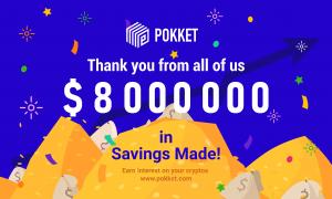 Another Milestone: $8 Million Deposits
