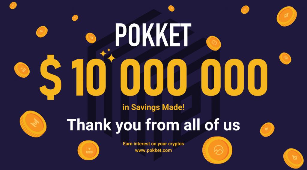 Another Milestone: $10 Million Deposits