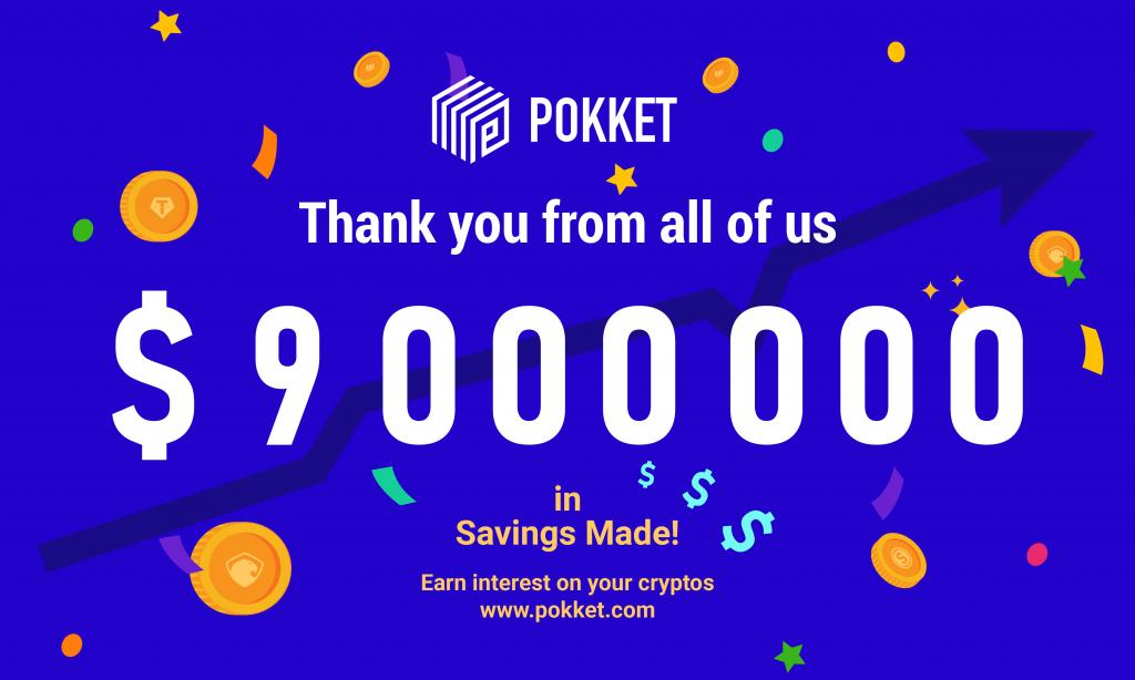 Another Milestone: $9 Million Deposits