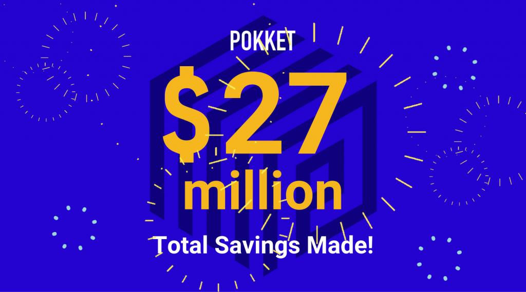 $27 Million Total Deposits Made!