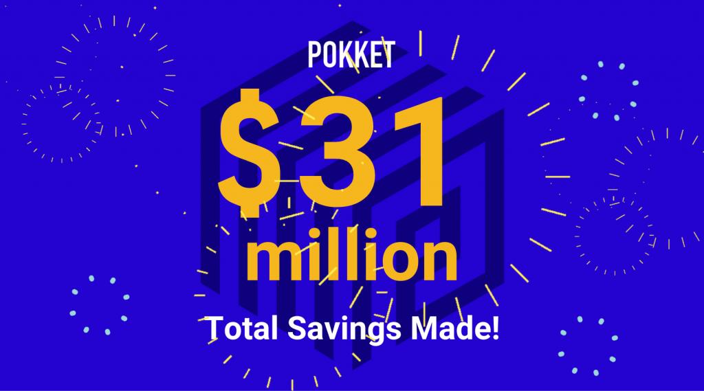 $31 Million Total Deposits Made!